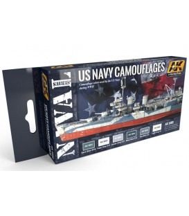 AK5000 US Navy Camouflages 6 u. 17 ml.
