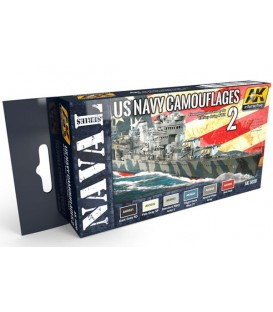 AK5020 US Navy Camouflages Vol.2 6 u. 17 ml.