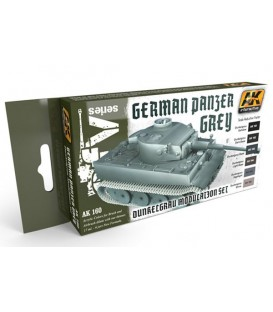 AK160 Panzer Gray Modulation Set 6 u. 17 ml.