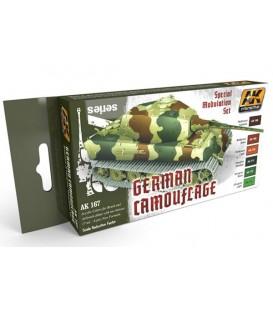AK167 German Green and Brown Modulation Set 6 u. 17 ml.