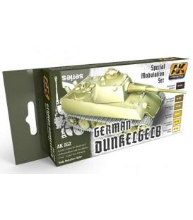 AK552 German Dunkelgelb Modulation Set 6 u. 17 ml.