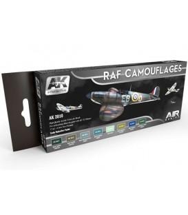 AK2010 RAF Camouflages Colors Set Set 8 u. 17 ml.