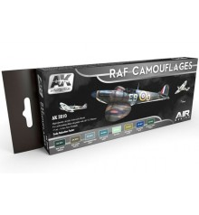 AK2010 RAF Camouflages Colors Set Set 8 u. 17 ml.