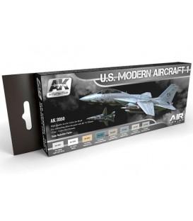 AK2050 U.S. Modern Aircraft 1 Colors Set Set 8 u. 17 ml.