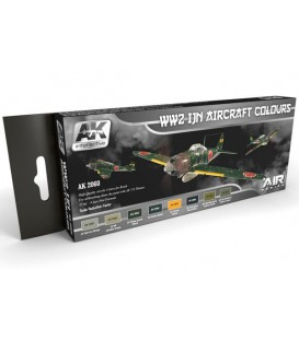 AK2060 WW2 IJN Aircraft Colors Set Set 8 u. 17 ml.