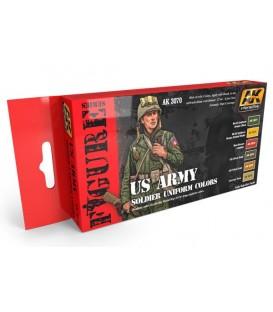 AK3070 US ARMY Soldier Uniform colors Set 6 u. 17 ml