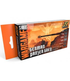 AK1160 German Panzer Grey Set (WARGAME SERIES) 6 u. 17 ml