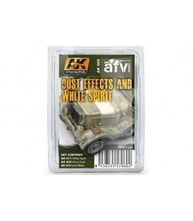 AK060 Dust Effects and White Spirit Set 3 u. 35 ml