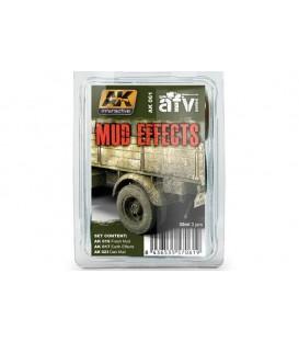 AK061 Mud Effects Set 3 u. 35 ml