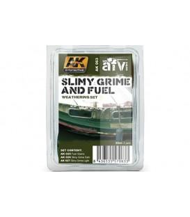 AK063 Slimy and Fuel Effects Set 3 u. 35 ml