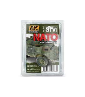 AK073 NATO Weathering Set 3 u. 35 ml