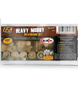AK077 Heavy Muddy Set 5 u. 35 ml
