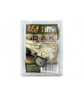 AK068 Afrika Korps Weathering Set 3 u. 35 ml
