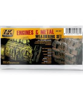 AK087 Engines and Metal Set 5 u. 35 ml