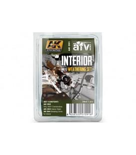 AK091 Interior Weathering Set 3 u. 35 ml