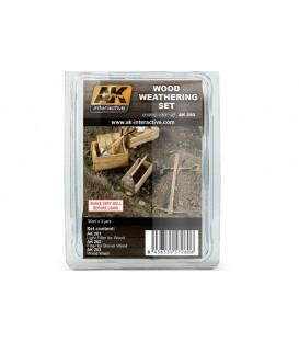 AK260 Wood Weathering Set 3 u. 35 ml