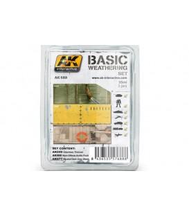 AK688 Basic Weathering Set 3 u. 35 ml