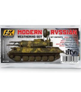 AK4160 Modern Russian Weathering Set 5 u. 35 ml