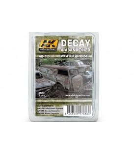 AK4180 Decay and Abandoned Weathering Set 3 u. 35 ml