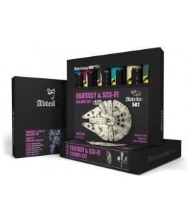 ABT310 Fantasy and SCI-FI Colors Set 6 u. 20 ml.