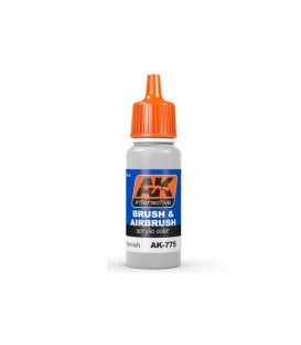 AK775 Matte Varnish 17 ml.