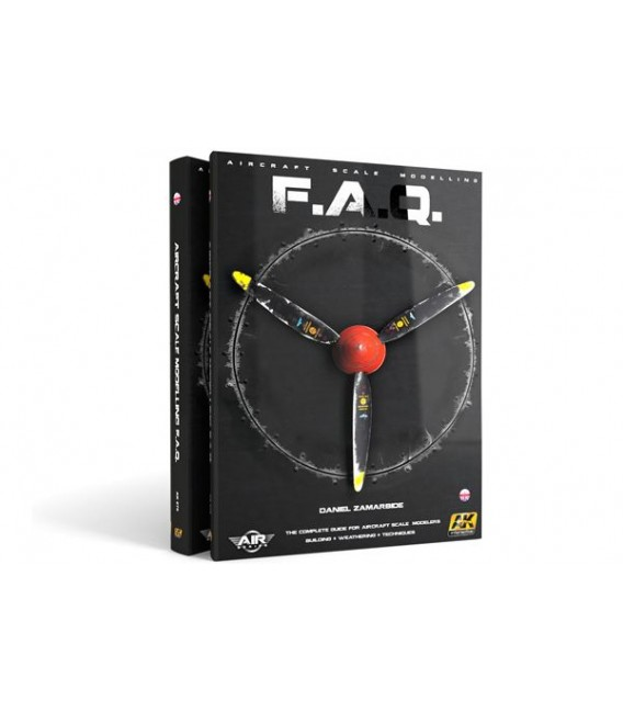 AK277 Aircraft Scale Modelling F.A.Q. - Castellano- Limited Edit