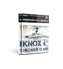 AK581 Modelling Full Ahead 1 Knox/Baleares Class - Castellano