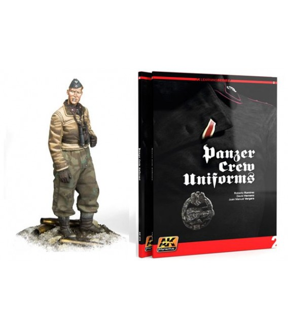 AK272 Panzer Crew Uniforms Painting Guide Learning Series 02-Eng