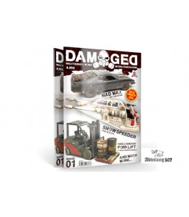 ABT702 Damaged Magazine Issue 01 - Español