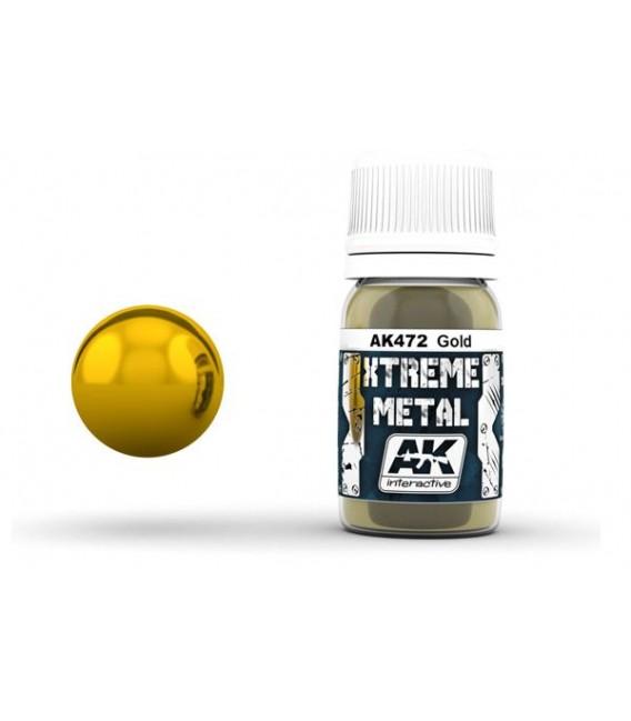 AK472 Xtreme Metal Gold 30 ml.