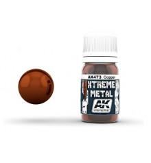 AK473 Xtreme Metal Copper 30 ml.