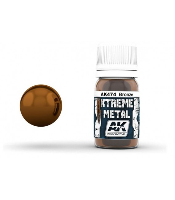 AK474 Xtreme Metal Bronze 30 ml.