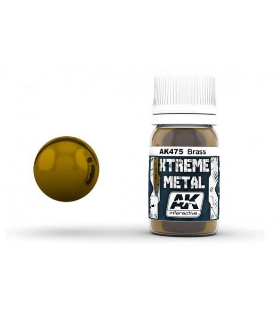 AK475 Xtreme Metal Brass 30 ml.