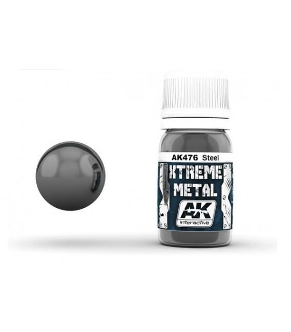 AK476 Xtreme Metal Steel 30 ml.