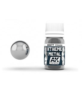 AK477 Xtreme Metal Chrome 30 ml.