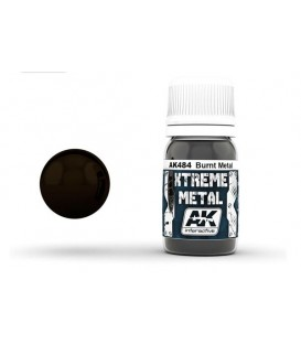 AK484 Xtreme Metal Burnt Metal 30 ml.
