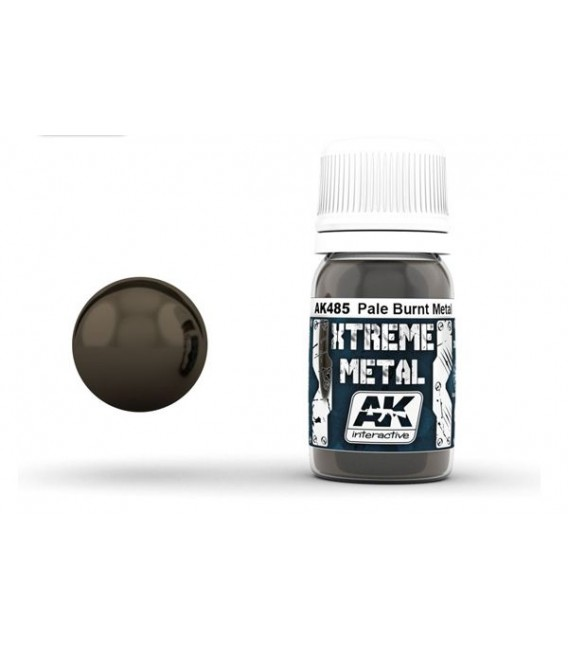 AK485 Xtreme Metal Pale Burnt Metal 30 ml.