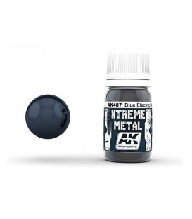 AK487 Xtreme Metal Blue Electric 30 ml.