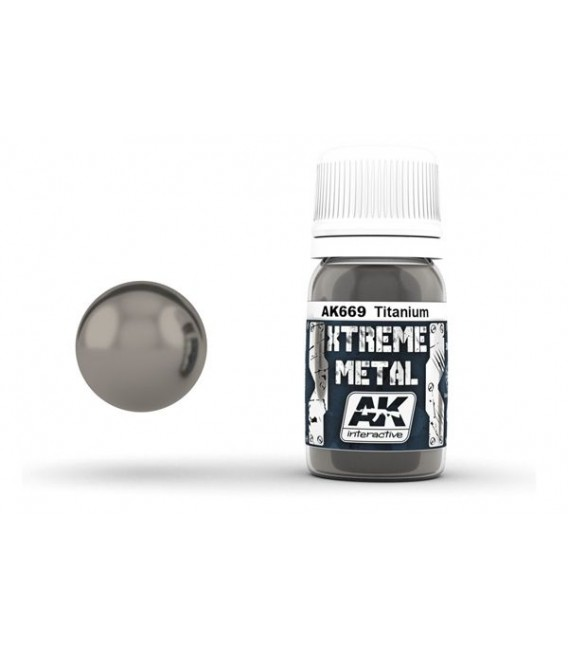 AK669 Xtreme Metal Titanium 30 ml.