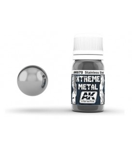 AK670 Xtreme Metal Stainless Steel 30 ml.