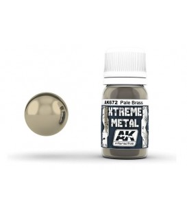 AK672 Xtreme Metal Pale Brass 30 ml.