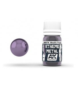 AK674 Xtreme Metal Metallic Purple 30 ml.
