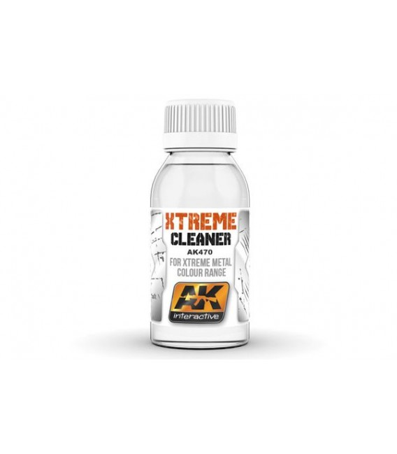 AK470 Xtreme Cleaner / Thinner 100 ml.