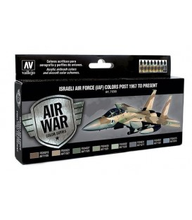 Set Vallejo Model Air 8 u. (17 ml.) Israeli Air Force 1967/pres.