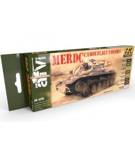 AK4230 MERDC Camouflage Colors set 8 u. 17 ml.