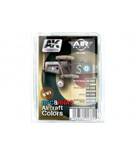 AK2280 WWI RFC-RNAS Aircraft Colors Set 4 u. 17 ml.