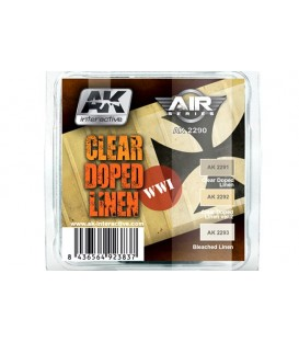 AK2290 Clear Doped Linen Set 3 u. 17 ml.