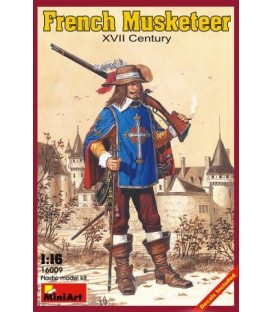 16009 French Musketeer XVII Century
