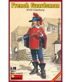 16011 French Guardsman XVII Century