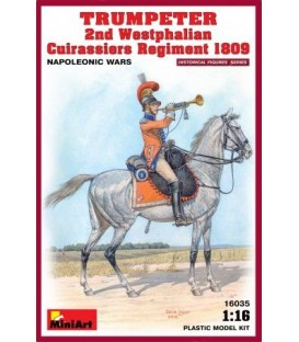 16035 Trumpeter 2nd Westphalian Cuirassiers Reg. 1809 Napoleonic